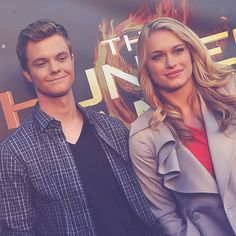 From left to right, Jack Quaid, Leven Rambin :3 I ship it too.
