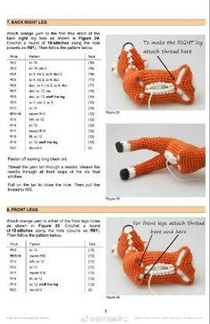 How to fasten off closed crochet projects Crochet Deer, Crochet Round, Love Crochet, Crochet Toys, Diy Crochet Patterns, Crochet Doll Pattern, Amigurumi Patterns, Crochet Projects, Amigurumi Doll