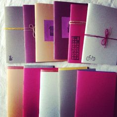 Various Colors Mini Notebooks