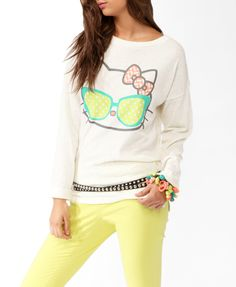 Speckled Hello Kitty® Top | FOREVER21 - 2030187485