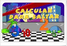 """""""Calcular para saltar"""" (Criterios de divisibilidad de web.imactiva.cl) I 5º, 6º Primaria I 1º ESO I http://web.imactiva.cl/descargas/imactiva/demo_actividades/swf/matematica/calcula_para_saltar.swf"""
