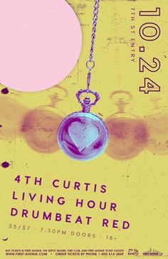 4TH CURTIS, LIVING HOUR, and DRUMBEAT RED | First Avenue