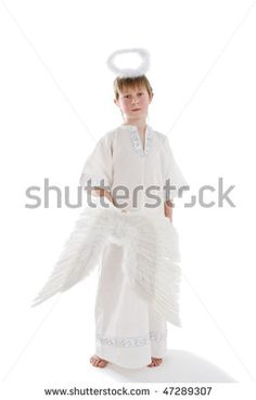 Little Boy Angel Costume .