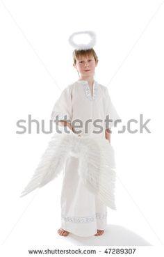 Little Boy Angel Costume .