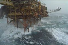 Looking for oilfield jobs? We're your one stop spot for oilfield jobs, oilfield news, oilfield learning and more. Oil Rig Jobs, Giant Waves, Rough Seas, Merchant Marine, Drilling Rig, Oil Industry, North Sea, Oil And Gas, Rigs