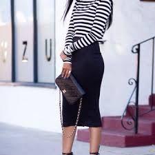 midi white skirt street style - Google Search