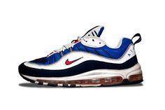 EffortlesslyFly.com - Kicks x Clothes x Photos x FLY SH*T!: Nike Air Max 98 Retro Retro Nike Shoes, Basket Sneakers, Shoes Sneakers, Sneakers For Sale, Casual Sneakers, Air Max Sneakers, Nike Air Max, Air Max 93, Shoe Game
