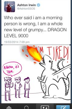 Haha same Ash. I've been called a morning dragon ever since I was little :P