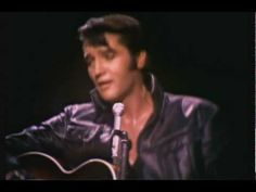 """Elvis Presley - """"One Night With You"""" - Singing LIVE at the """"jam session"""" part of his """"comeback"""" TV special """"Elvis"""" in December 1968.....Such a great song and OMG ...THE BEST!!"""