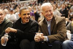 Barack Obama and Joe Biden are BFFLs and the Coolest Camp Counselors Ever