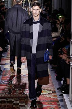 Valentino Fall 2014 Menswear Collection Slideshow on Style.com
