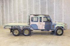 LAND ROVER PERENTIE 6x6 Isuzu 3.9 Diesel, DOUBLE CAB