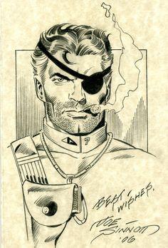 Nick Fury by Joe Sinnott