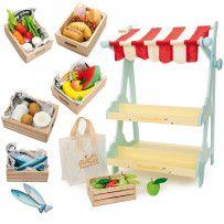 Le Toy Van Honeybee Market Stall Bundle