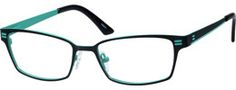 696421 Stainless Steel Full-rim Frame With Spring Hinges