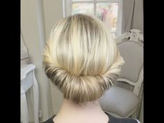 Twist and Pin Updo by SweetHearts Hair Design - YouTube