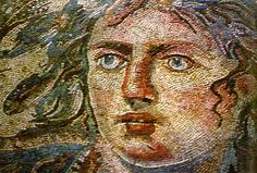 Tethys (Goddess of the Sea) Mosaic, Shahba Museum Sweida Province, Syria