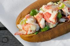 Stonewall Kitchen's lobster roll