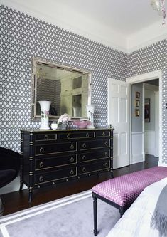 A stunning bedroom idea by Greg Natale. For more inspirations, visit our blog!   #designinspiration #designhouse #bedroomideas #bedroomdecoration #curateddesign #furnituredesign #gregnatale