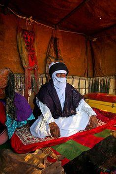 C o n t e m p l a t e s ( Picture of Touareg Man in Awbari) by Mansour Ali, via Flickr
