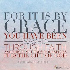 For it is by grace you have been saved through faithand this is not from yourselves it is the gift of God not by works so that no one can boast.im/BibleSALE Bible Words, Scripture Verses, Bible Scriptures, Powerful Christian Quotes, Christian Verses, Christian Faith, Spiritual Words, Spiritual Gifts, Bible Study Journal