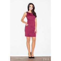 M079 Classic fitted dress