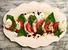 Pistachio Pesto + Caprese Salad