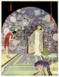 Illustrations from Tanglewood Tales by Virginia Frances Sterrett 1921