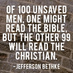 """""""When on earth did 'hates gays, can't drink beer, & no tattoos' become the essence of Christianity?"""" ~Jefferson Bethke"""