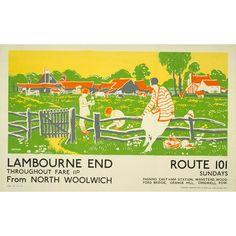 Lambourne End - Dorothy Paton (1926)