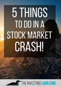 Here are 5 Things that you can do when there's a stock market crash. You don't have to panic! Stock Market Crashes are expected to happen and are great opportunities for smart investors who understand what to do in a stock market crash! Stock Market Investing, Investing In Stocks, Investing Money, Saving Money, Investing For Retirement, Early Retirement, Retirement Planning, Retirement Cards, Retirement Advice