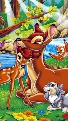 Disney Bambi iPhone 5 wallpaper