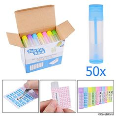 Lip Balm Container Tubes - 50-Pack (10x5 colors) - DIY - ... https://www.amazon.com/dp/B01HEEGADA/ref=cm_sw_r_pi_dp_x_dUCizbG1TPEMF