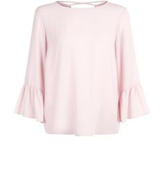 Discover the latest trends at New Look. Clothing For Tall Women, Clothes For Women, Big & Tall, New Look, Bell Sleeve Top, Blouse, Pink, Shopping, Shell