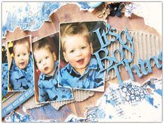 "Di's Creative Space: My ""More Than Words Challenge"" November DT Reveal""It's A Boy Thing"""