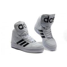Jeremy Scott Adidas Instinct HI blanco negro solo 60 Jeremy Scott