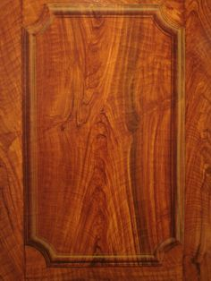 Faux finished painted walnut wood grain with trompe loeil molding by Naples Fl artist Arthur Morehead