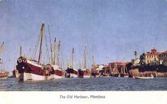 The Old Harbour, Mombasa Kenya