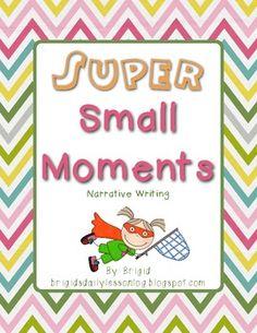 Writing Narratives - Small Moments