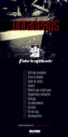 odradexus, lo nuevo de fabricamusic