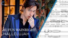 Flute - Hallelujah - Rufus Wainwright - Sheet Music, Chords, & Vocals