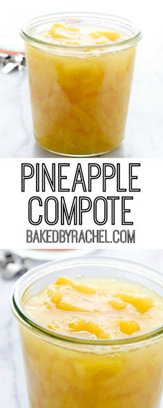 Easy pineapple compote recipe from A fun addition to your favorite dessert or breakfast! Easy Cheesecake Recipes, Jam Recipes, Fruit Recipes, Sweet Recipes, Cooking Recipes, Holiday Recipes, Coulis Recipe, Compote Recipe, Recipes