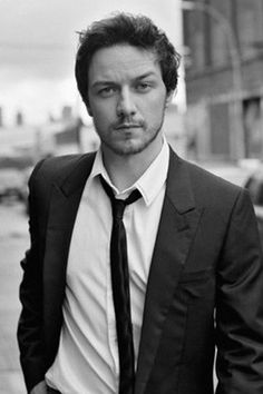 "Incredible talent. I find him fascinating to watch.  Those eyes and all his ""Scottish-ness"" don't hurt, either!  <3  James McAvoy"