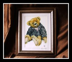A Kevin Wood portrait: he captures the heart and soul of a teddy bear so beautifully.