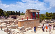 most-visited ancient ruins: Knossos
