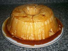 Portuguese Pudim Molotof Recipe - Egg White Souffle Dessert!     - looks like flan...