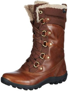 Timberland Women's MOUNT HOPE F/L WP TOBACO Insulated Boot, Tobacco, 7.5 M US
