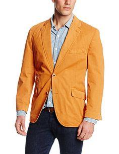 Kroon Men's Sting 2 Button Side Vent Linen Blazer