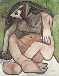 Pablo Picasso (1881-1973)Nu accroupi Impressionist/Modern Evening Sale