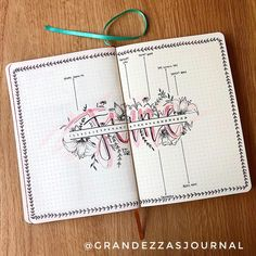 Facebook@Bullet Journal Beginners #bujo #bulletjournal #maandlayout #maandoverzicht #maandpagina #monthlypage #monthlybujo #monthlyspreads #juni #june